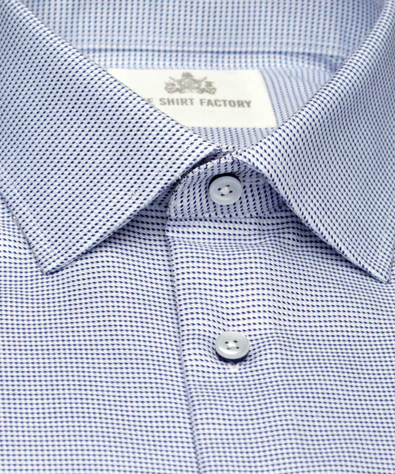 Shirt Belmont Strykfri Blå The Shirt Factory