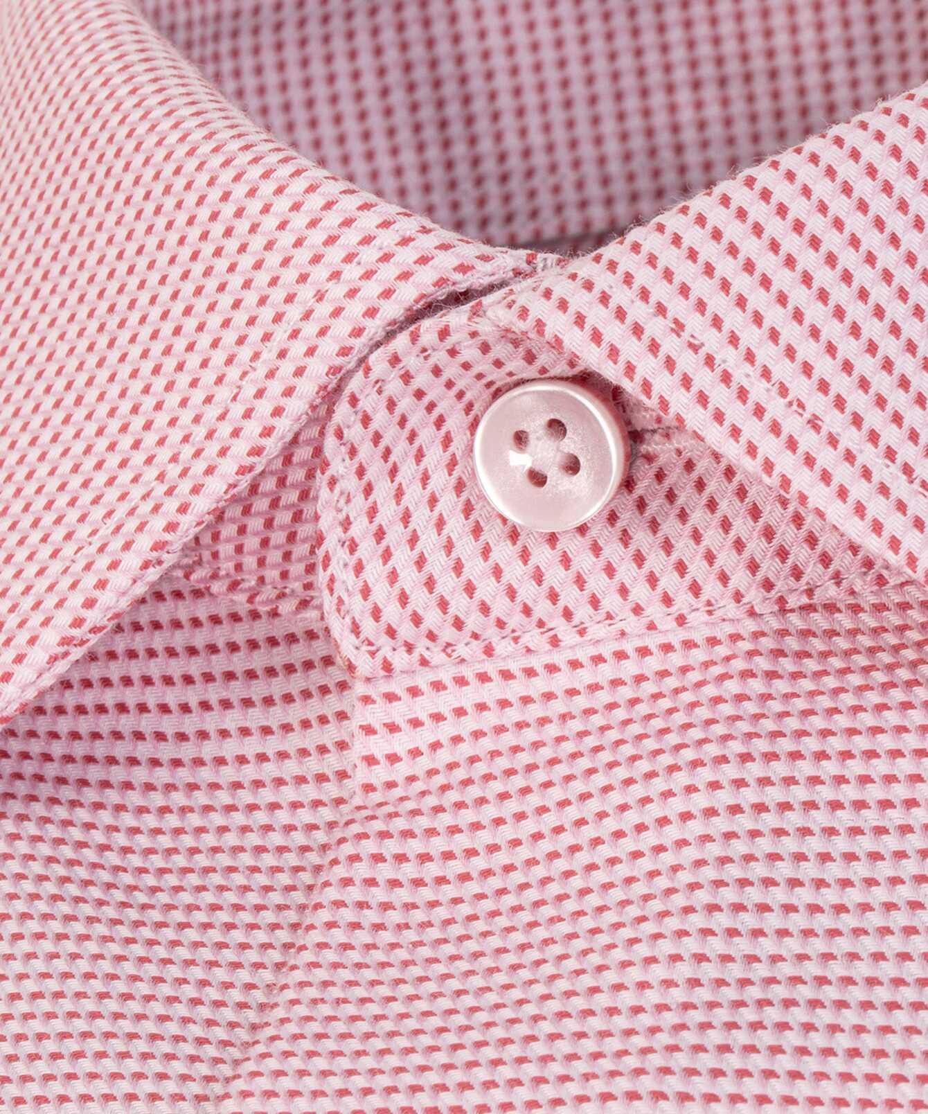 Shirt Belmont Strykfri Röd Extra Lång Ärm The Shirt Factory