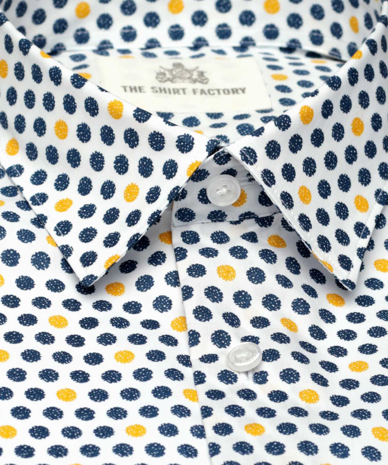 Skjorta Barcelona The Shirt Factory