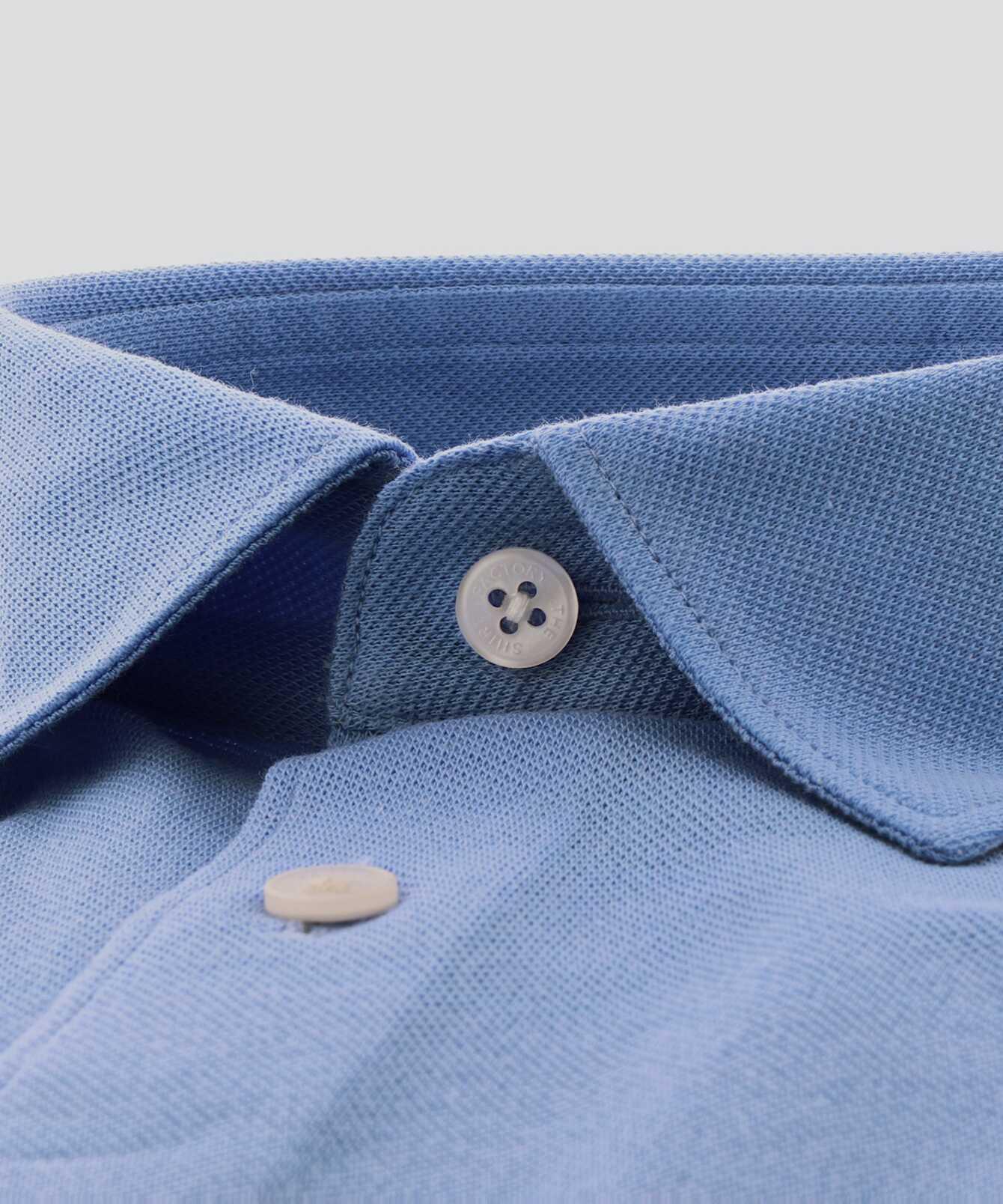 Skjorta Royal Troon Pike Ljusblå The Shirt Factory