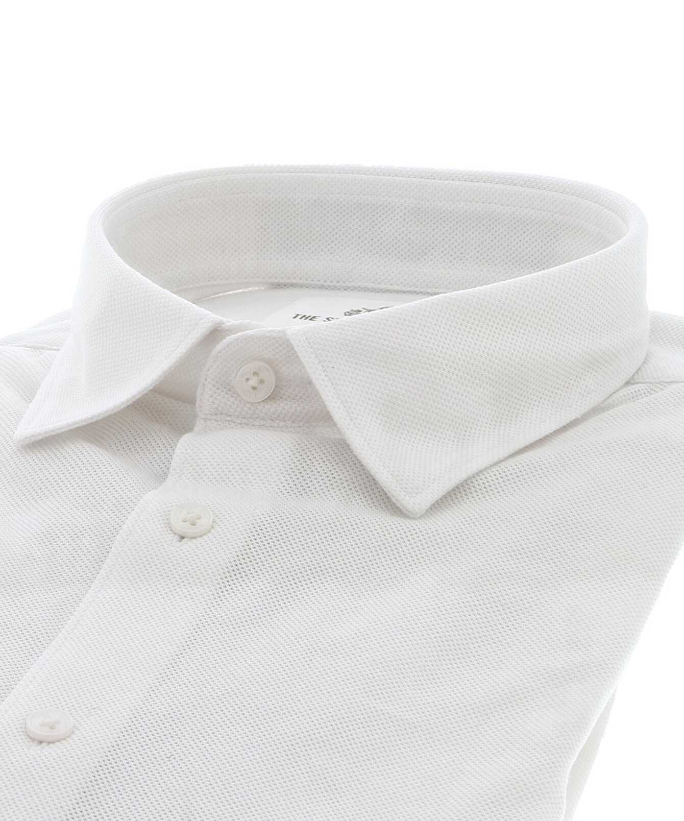 Shirt Royal Troon Pique White The Shirt Factory