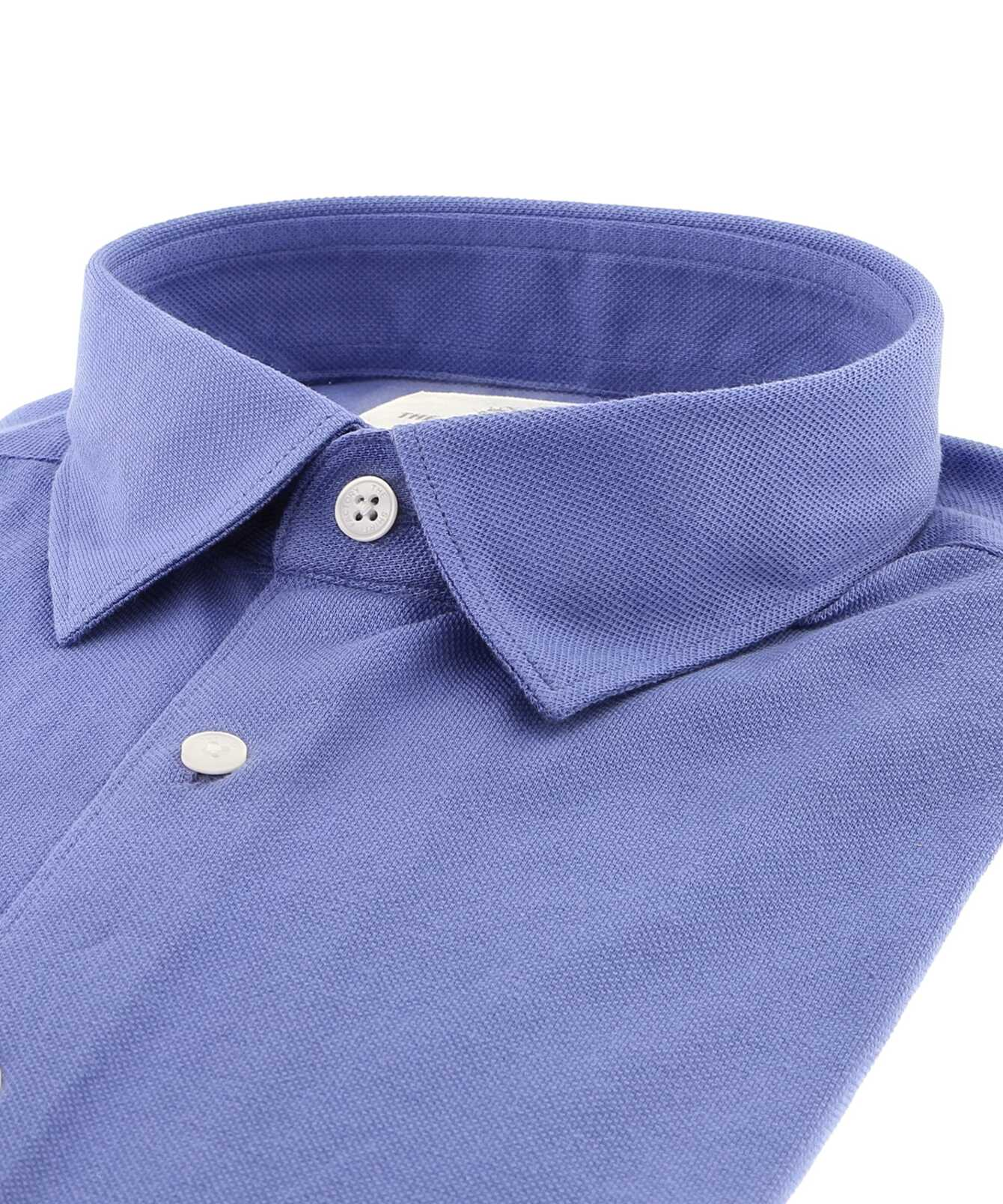 Shirt Royal Troon Pique Lilac The Shirt Factory