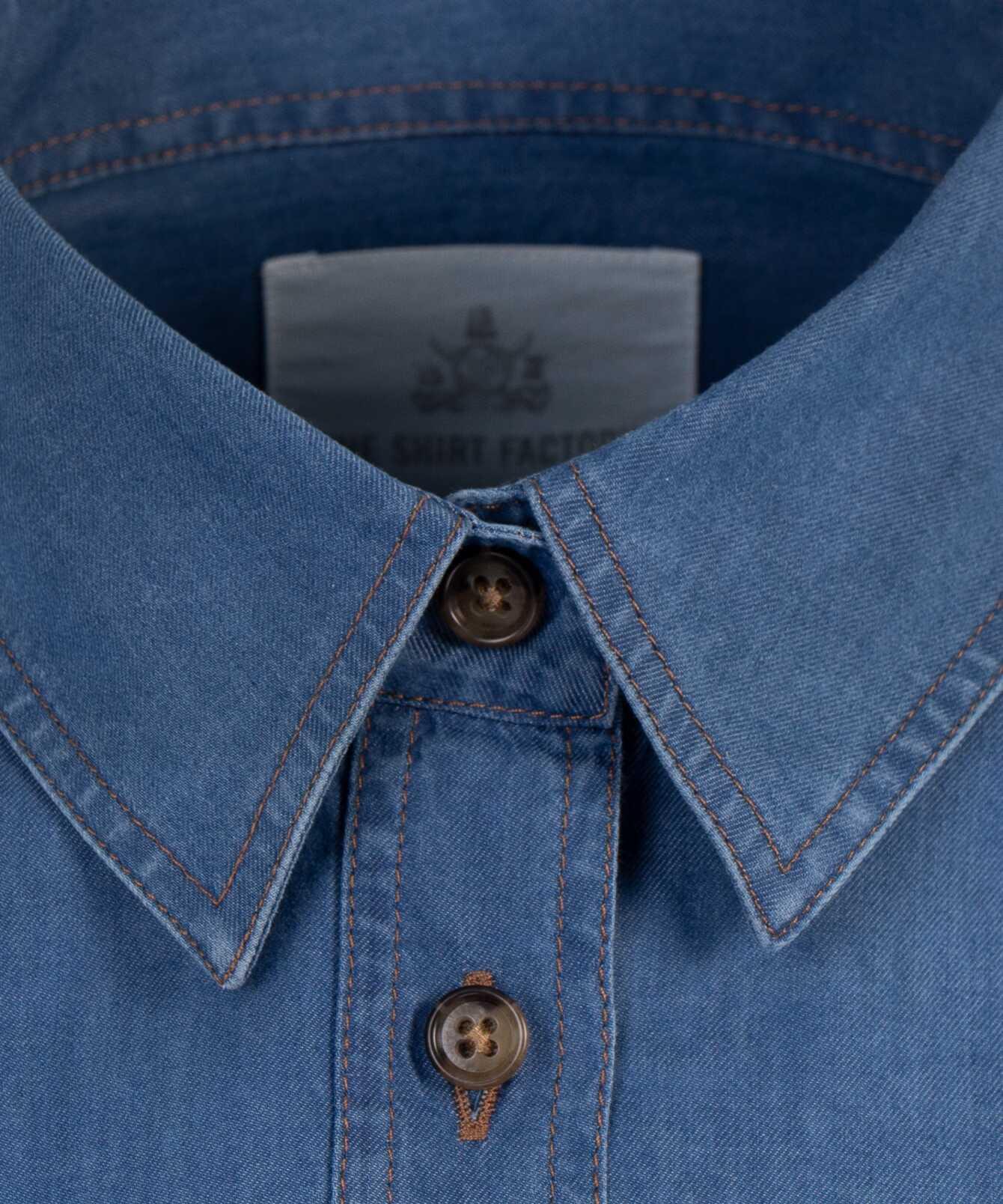 Shirt Agnes Brillo Denim The Shirt Factory