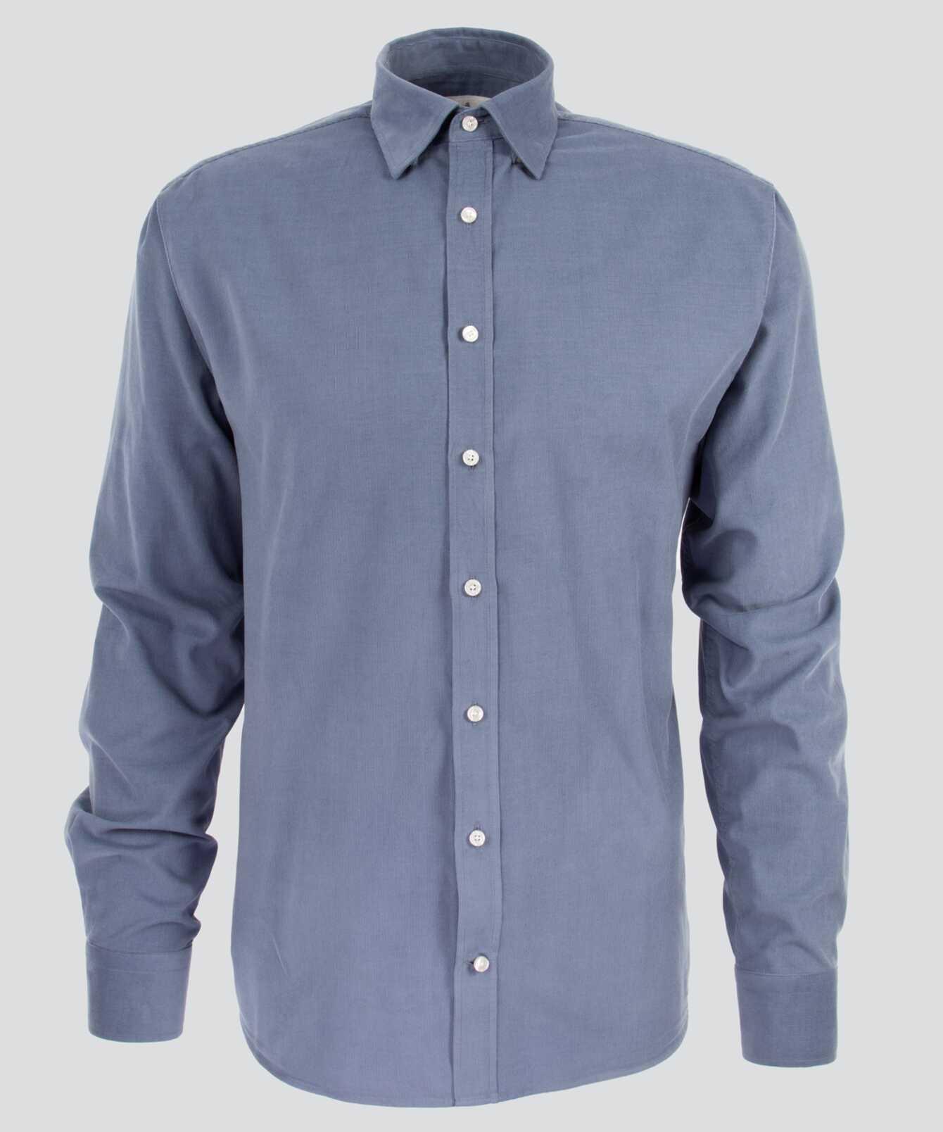 Shirt Toronto Cord Blue The Shirt Factory