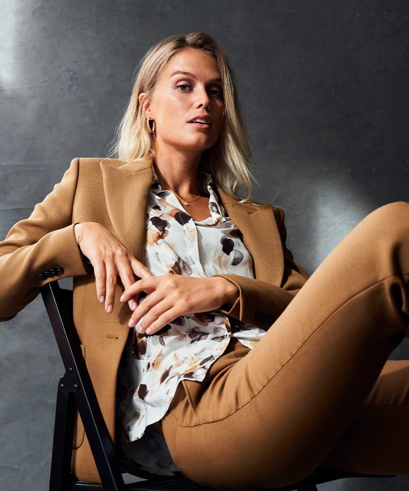 Skjorta Gina Illusion The Shirt Factory