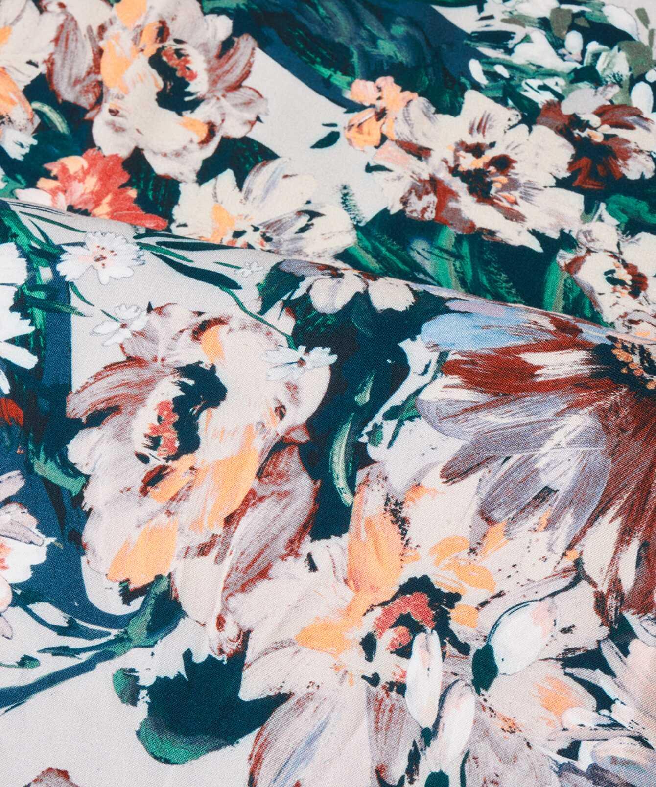 Shirt Gina Flower  The Shirt Factory