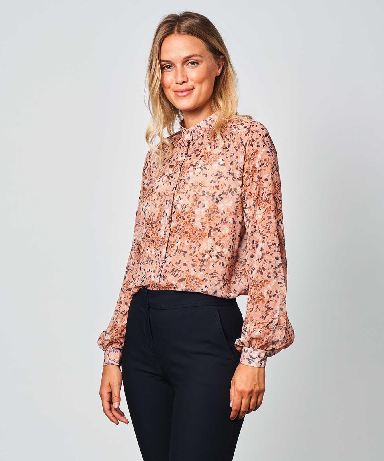 Shirt Mira Floral Print The Shirt Factory