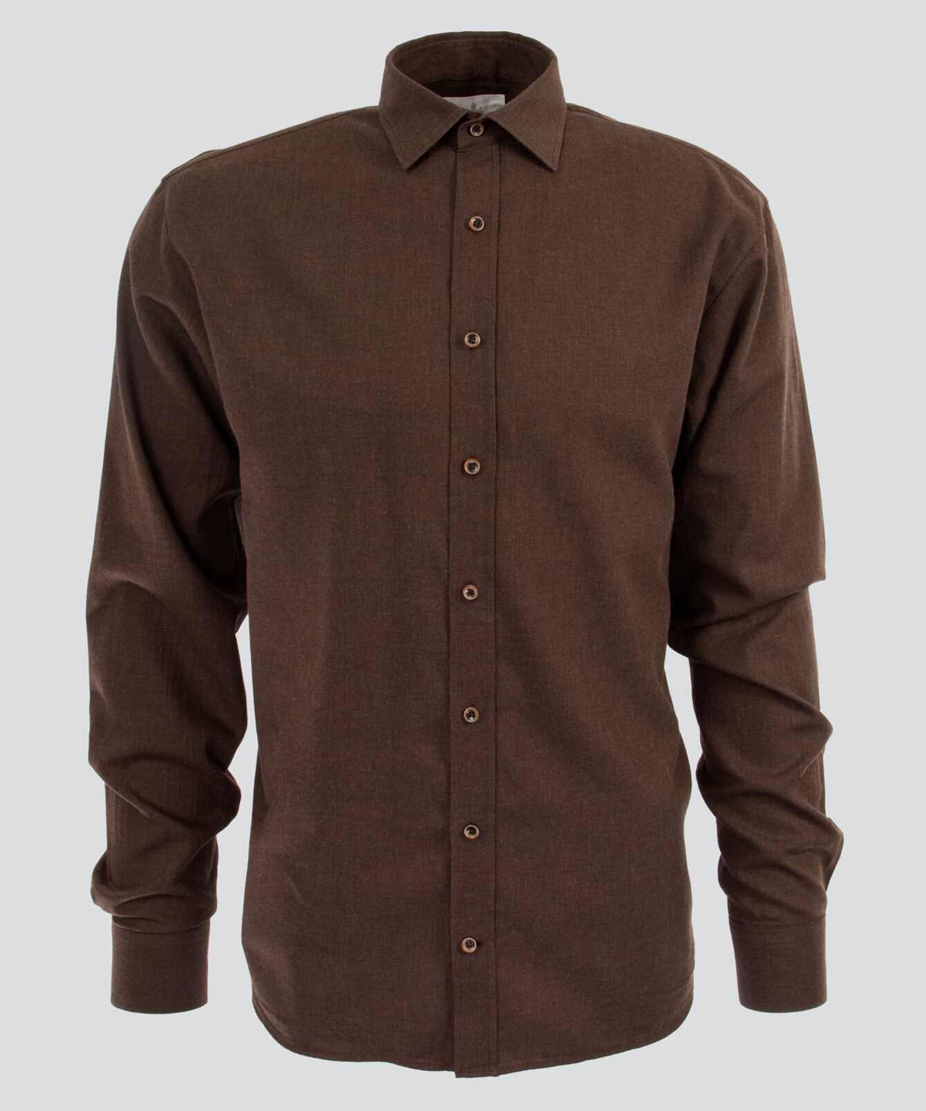 Shirt Costello Mörkbrun The Shirt Factory