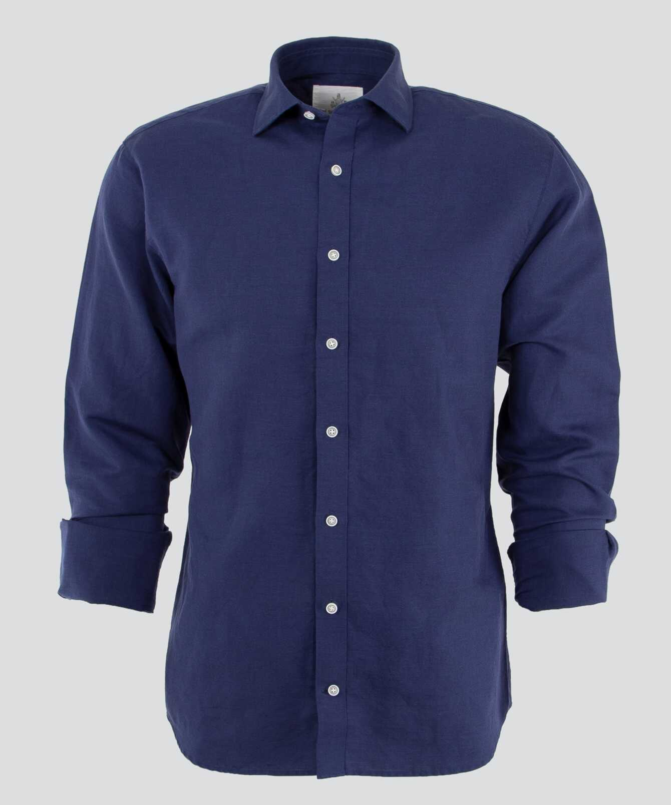 Shirt Portofino Linen  The Shirt Factory