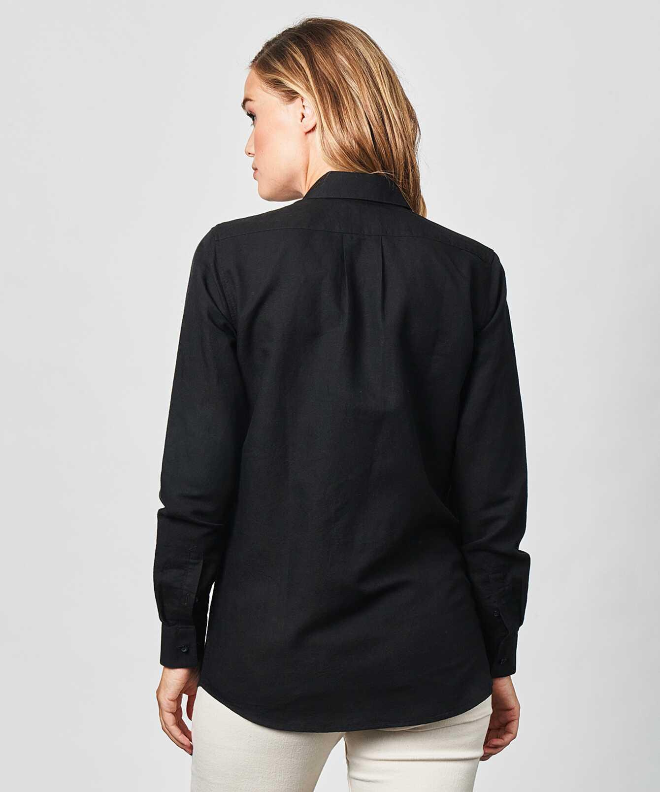 Shirt Mickan Portofino Black The Shirt Factory