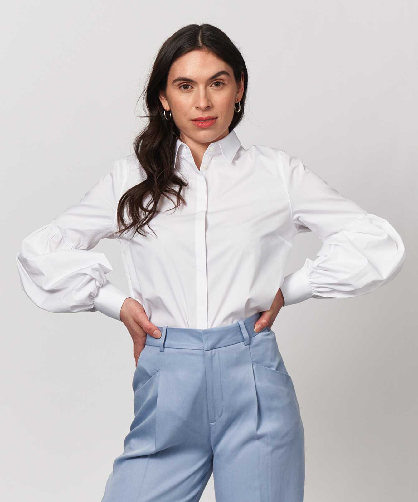 Shirt Nina Liberty Poplin  The Shirt Factory