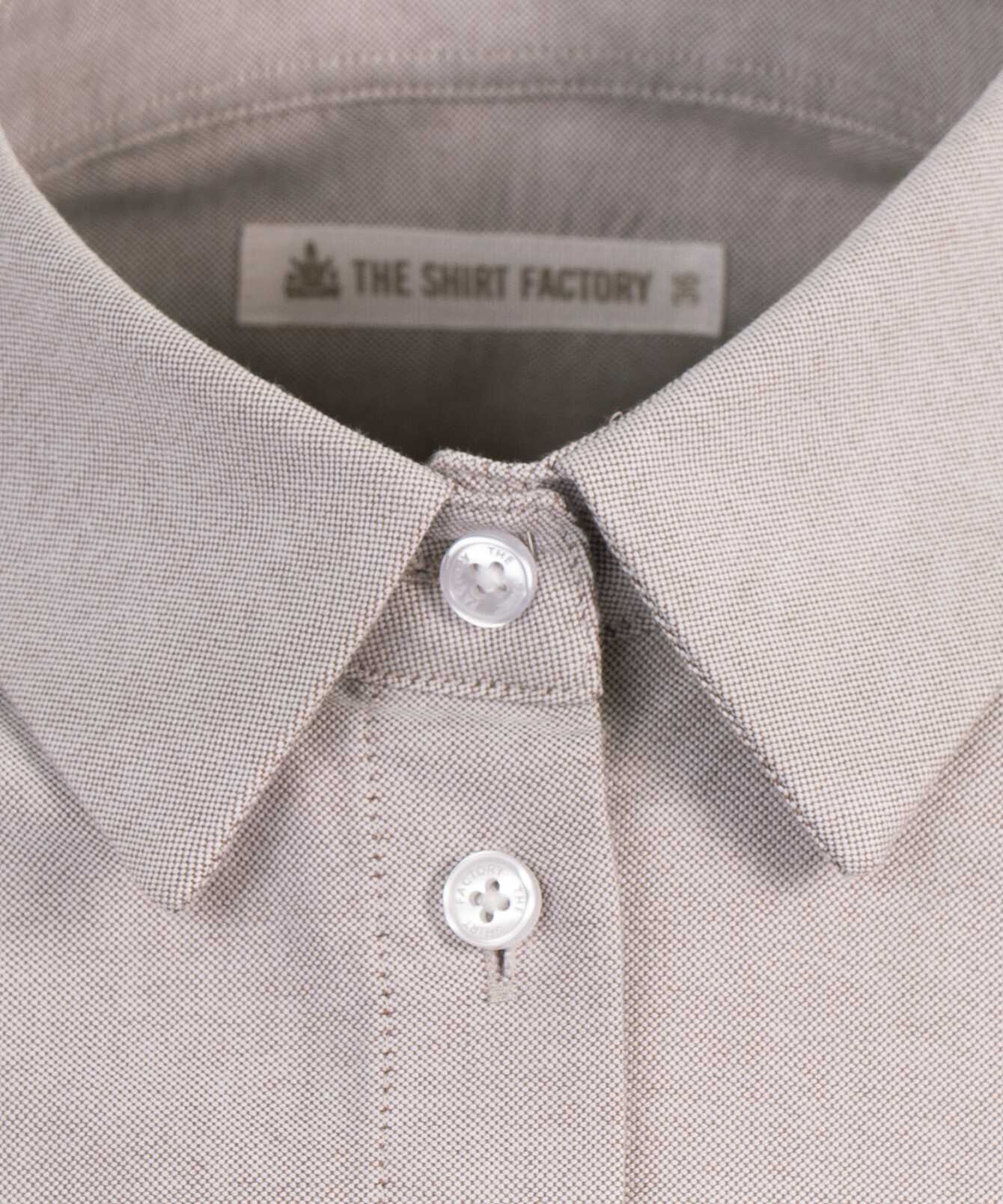 Shirt Tilde Boston Oxford Sand The Shirt Factory