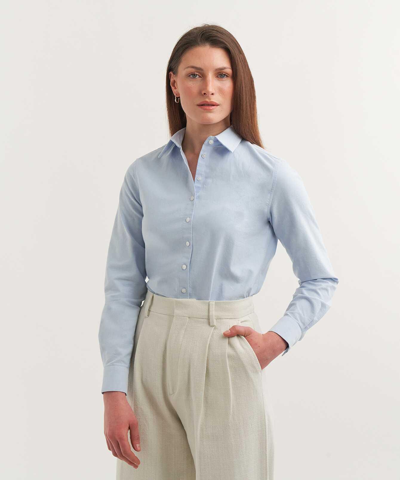 Shirt Tilde Boston Oxford Ljusblå The Shirt Factory