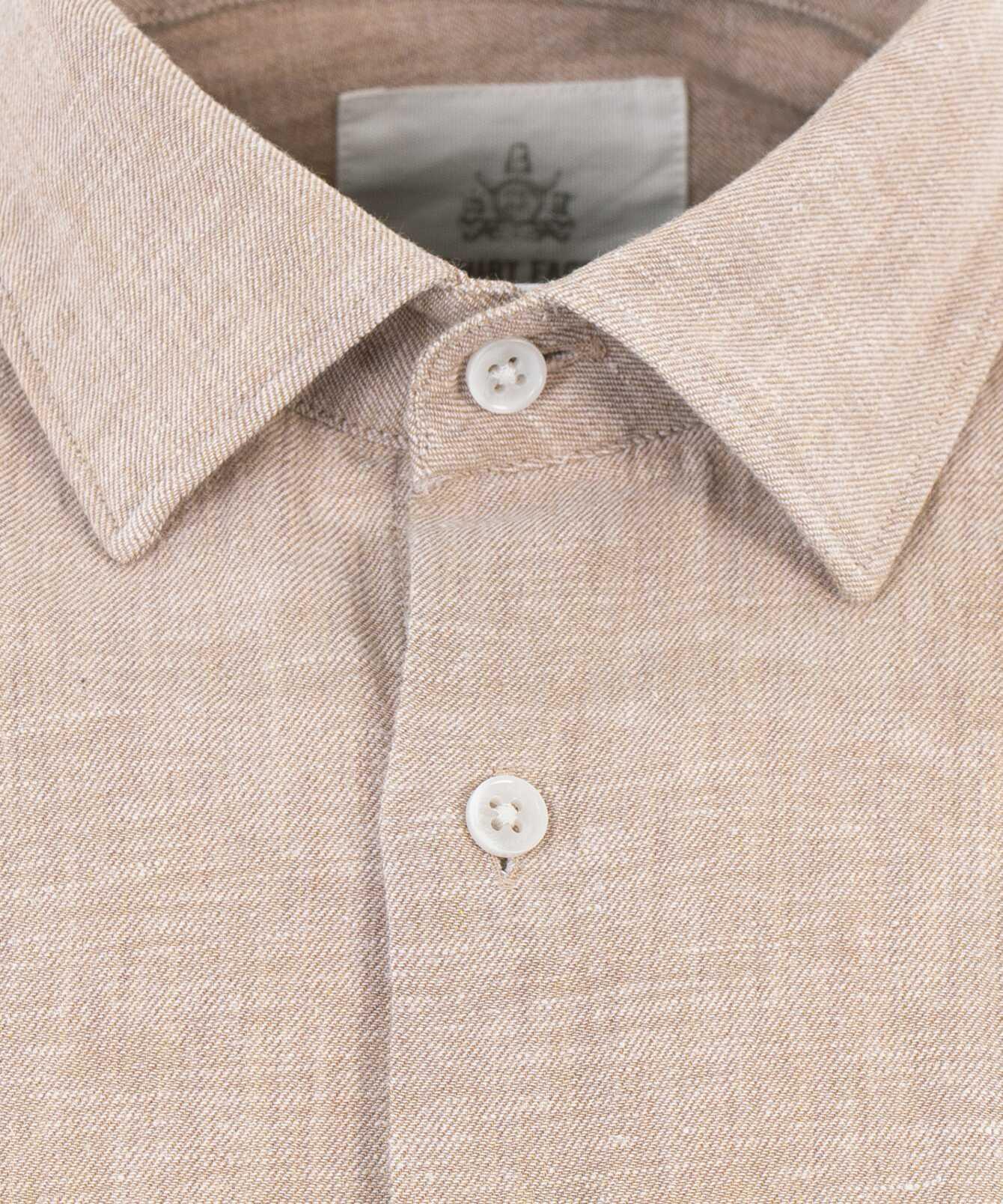 Shirt Webster Beige The Shirt Factory