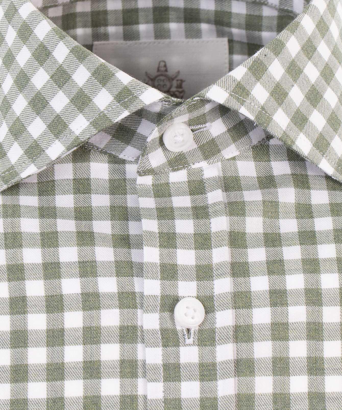 Skjorta Charleston Grön The Shirt Factory