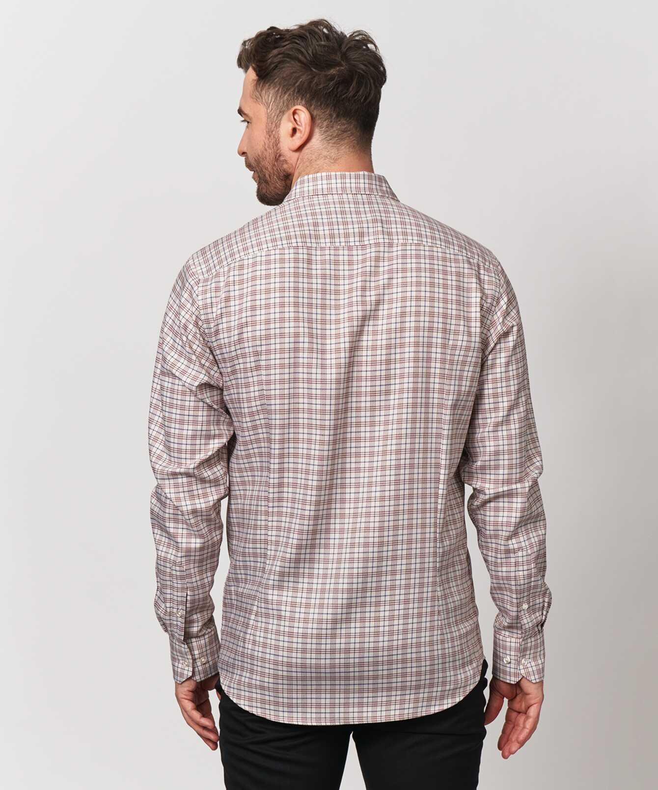 Skjorta Wilson Beige The Shirt Factory