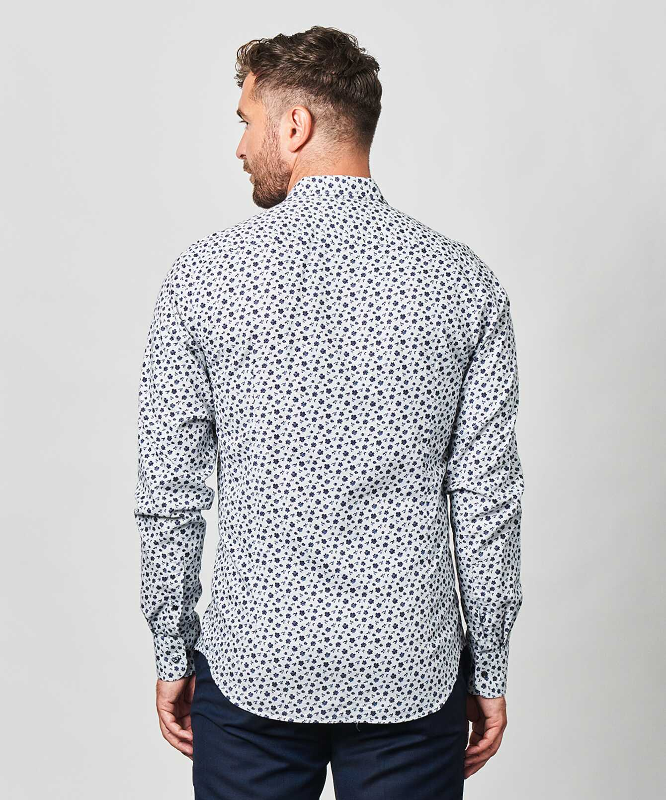 Skjorta Merida Blå The Shirt Factory