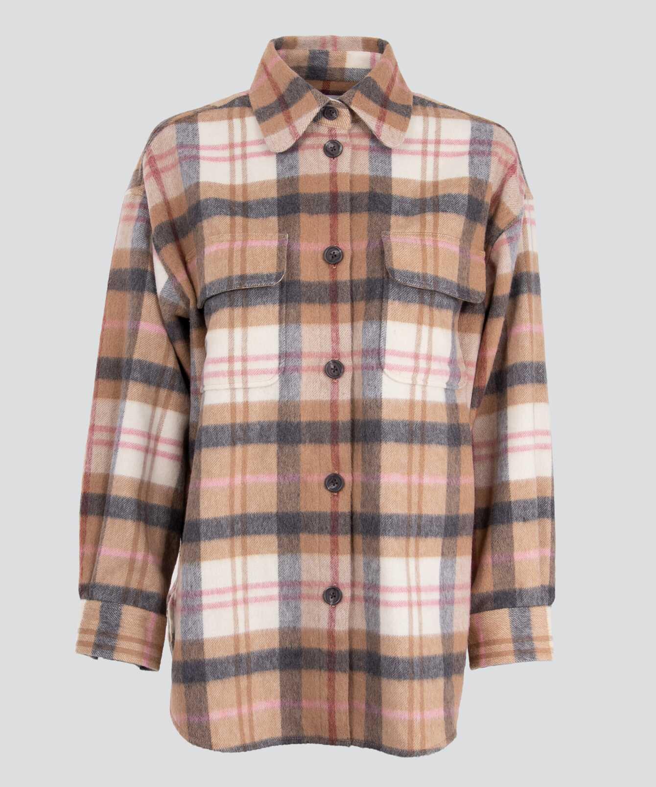 Skjorta Holly Plaid Overshirt The Shirt Factory
