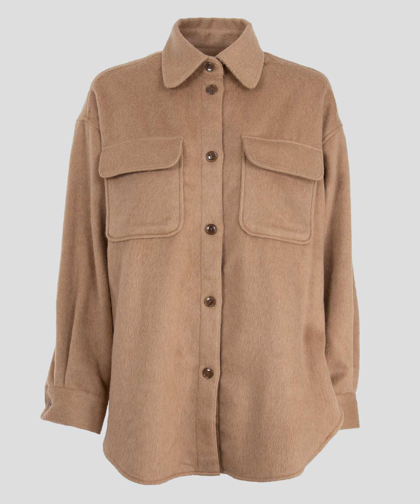 Shirt Holly Flanell Beige The Shirt Factory