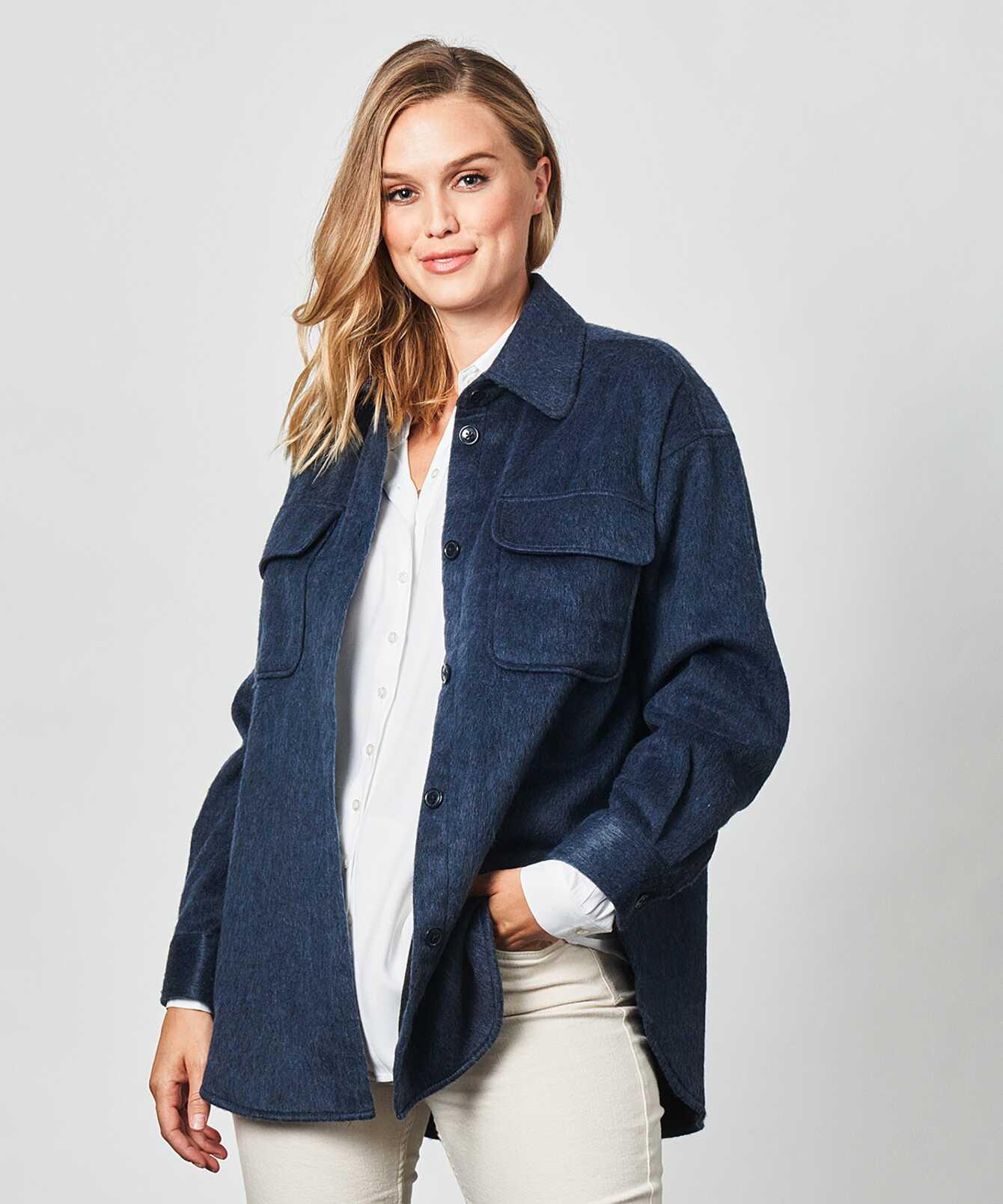 Shirt Holly Flanell Blue The Shirt Factory