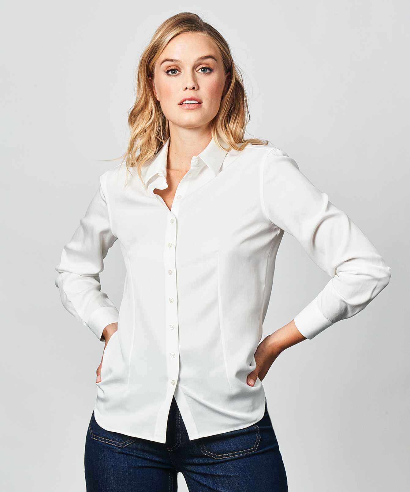 Skjorta Tilde Soft Creme The Shirt Factory
