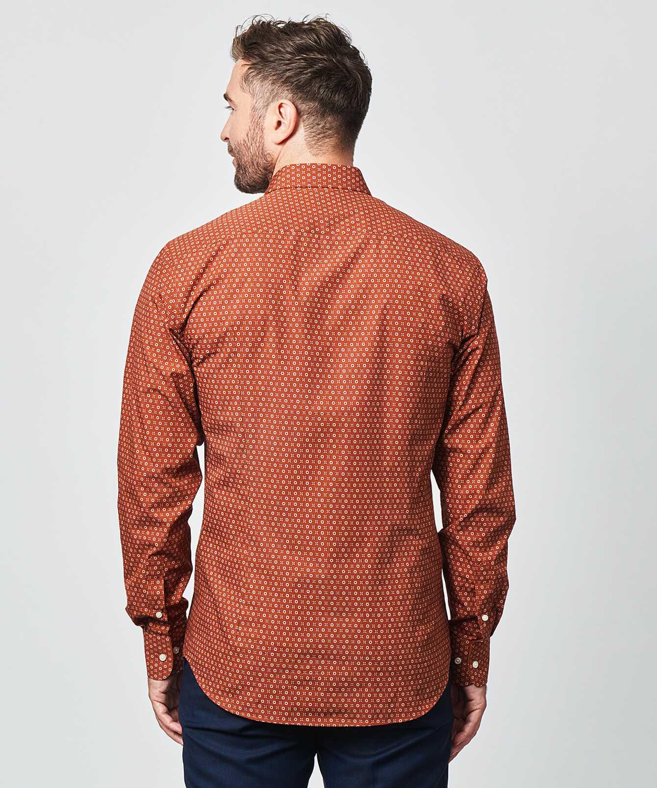 Skjorta Furnas Roströd The Shirt Factory