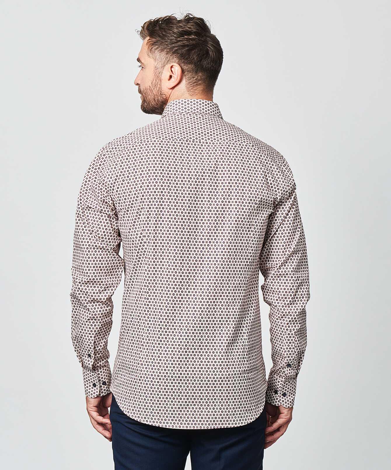 Skjorta Furnas Beige The Shirt Factory
