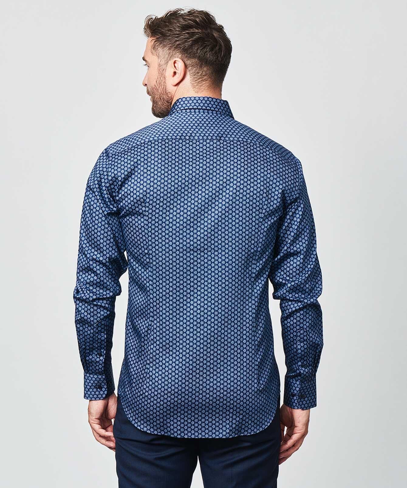 Shirt Gavardo Dark Blue The Shirt Factory