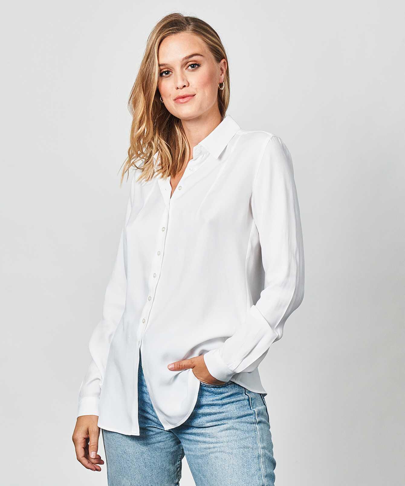 Skjorta Petra Verona Vit The Shirt Factory