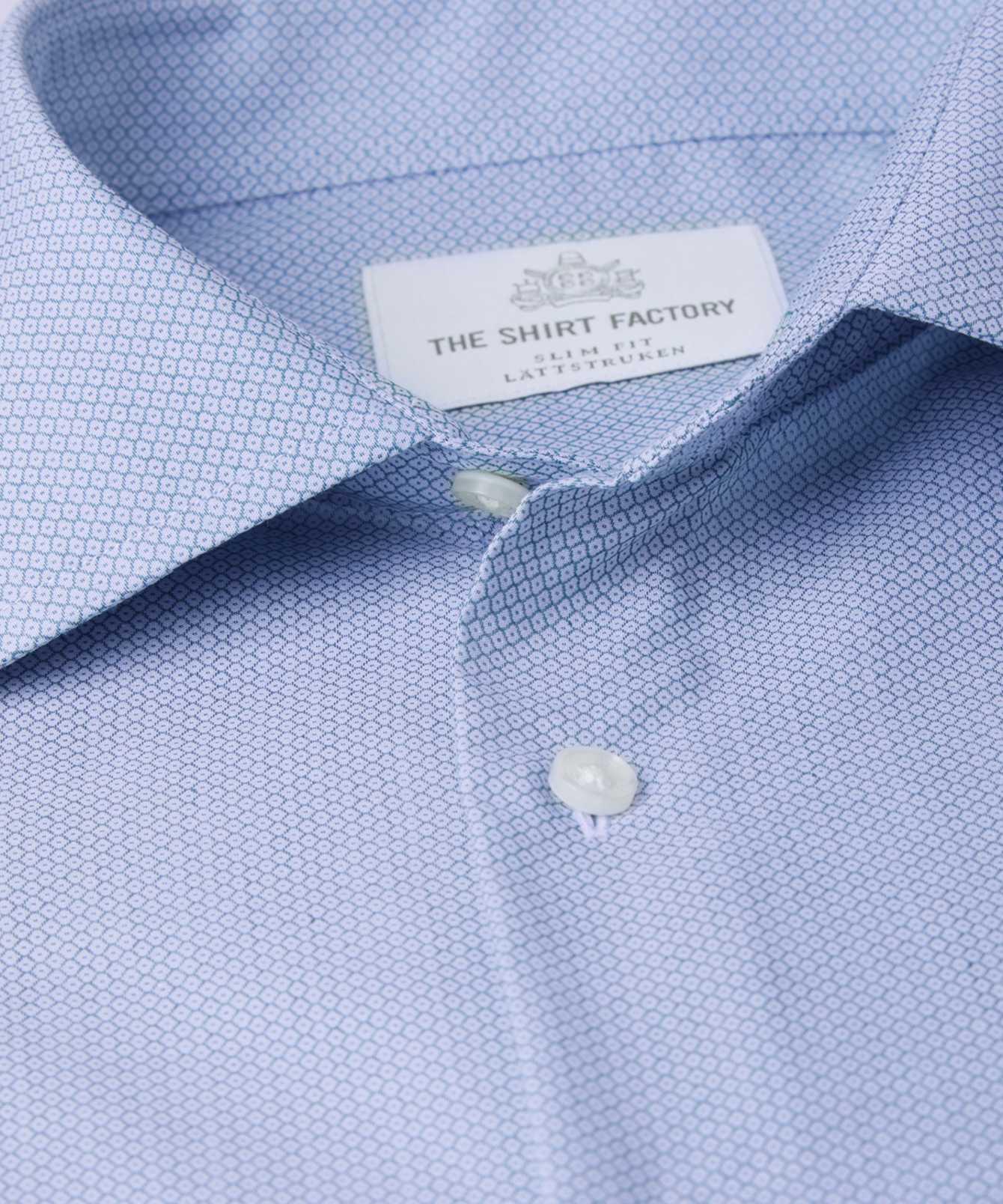 Shirt Dundee Blue The Shirt Factory