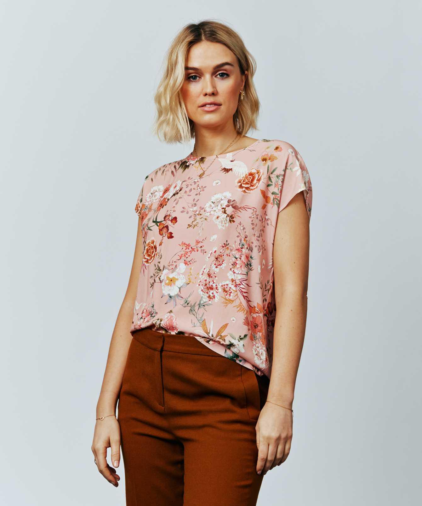 Skjorta Bea Stork Rosa The Shirt Factory