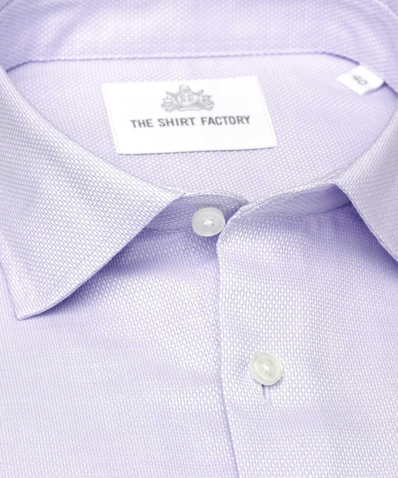 Shirt Havanna Lila The Shirt Factory