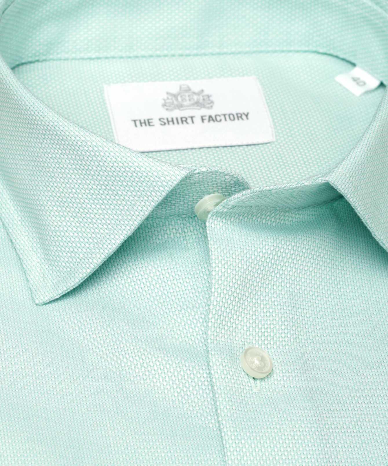 Skjorta Havanna Grön The Shirt Factory