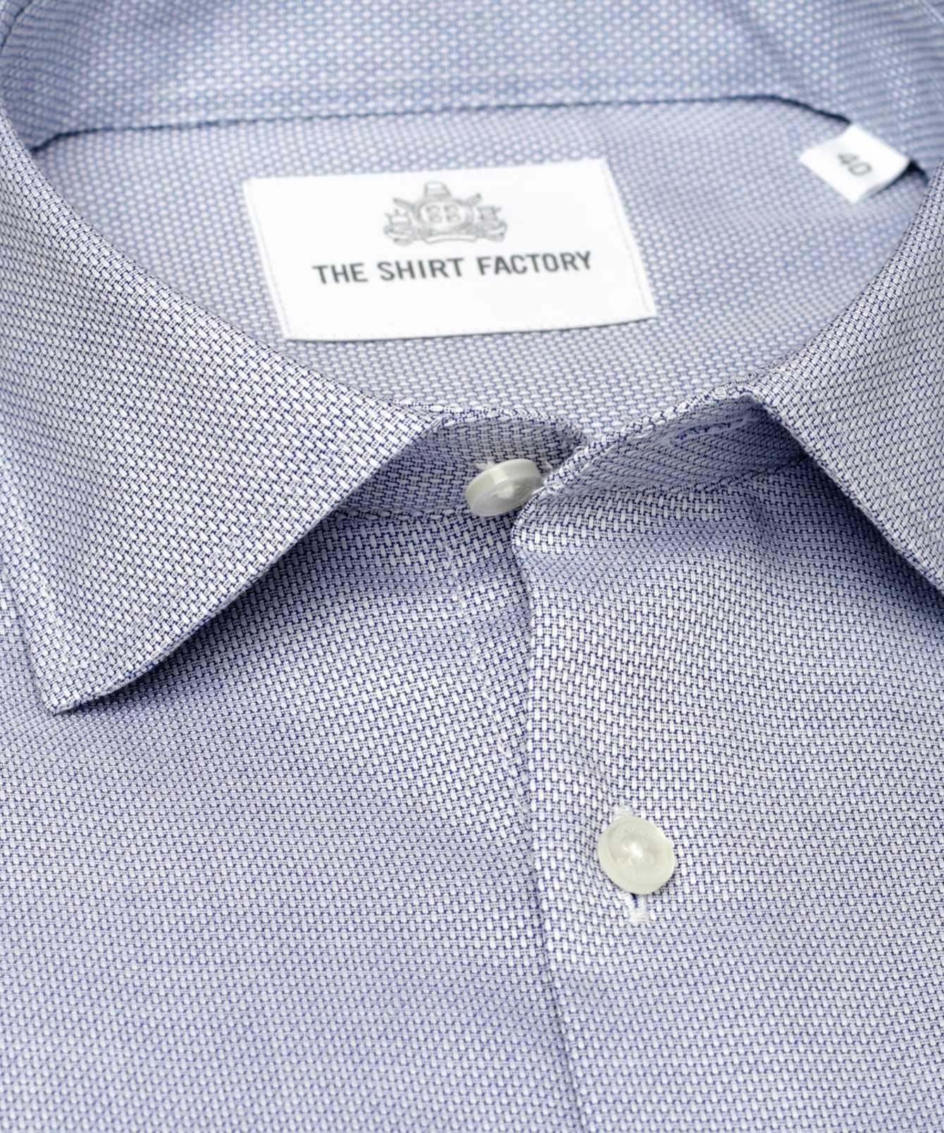 Skjorta Havanna Blå The Shirt Factory