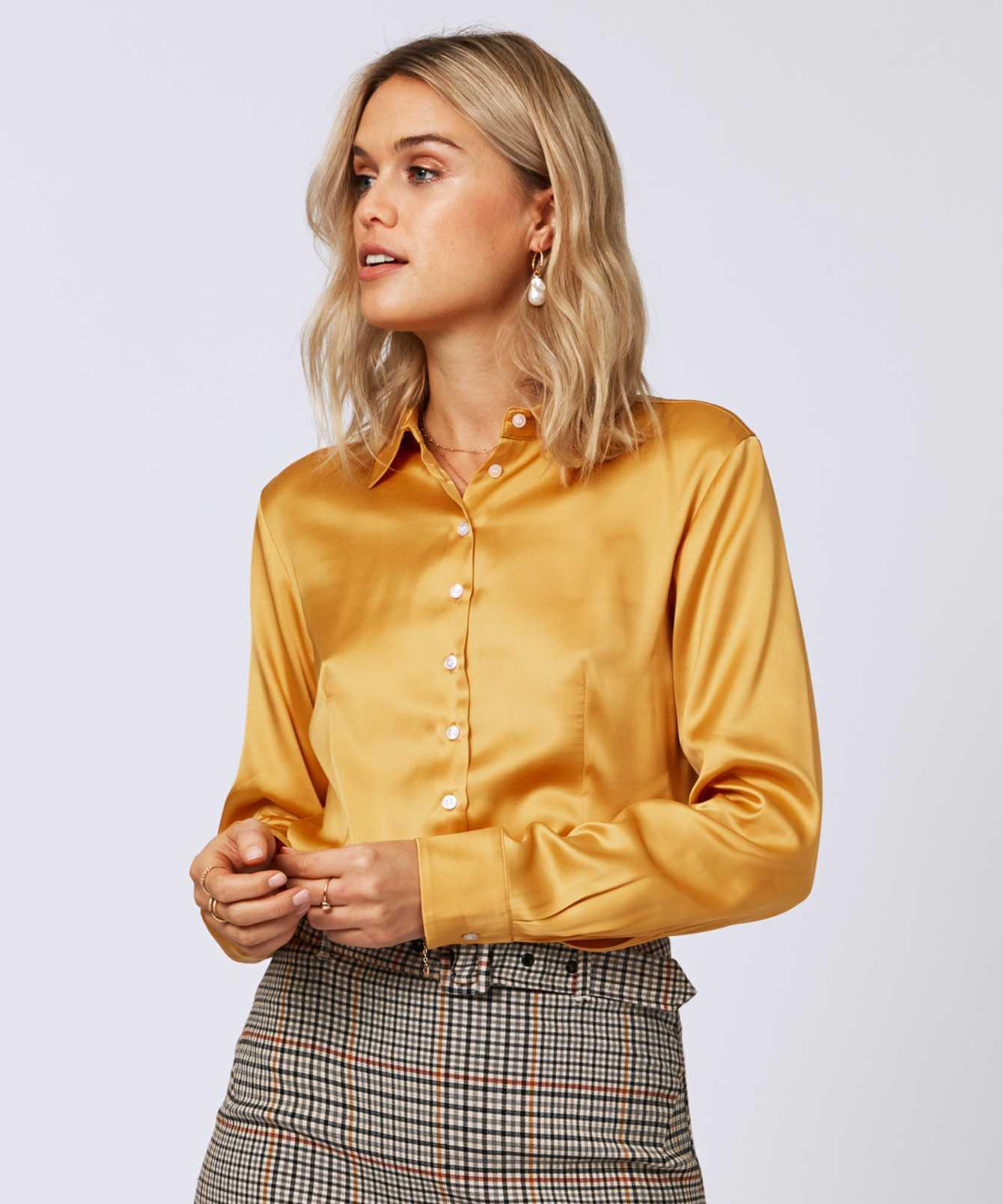 Skjorta Tilde Sublime Guld  The Shirt Factory