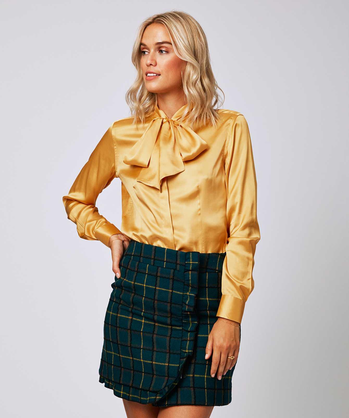 Skjorta Karin Sublime Guld The Shirt Factory