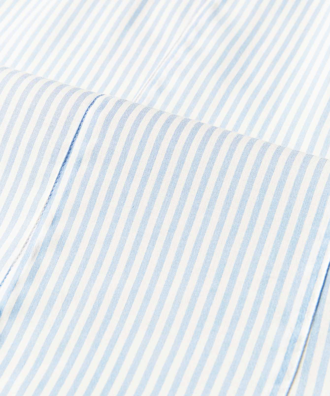 Skjorta Emma Stripe Extra lång ärm  The Shirt Factory