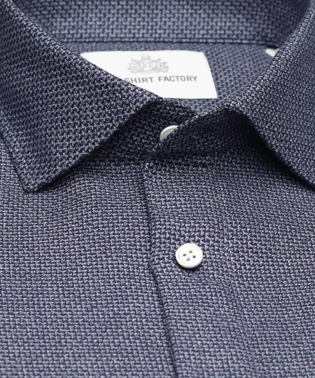 Shirt Nova Scotia Navy The Shirt Factory