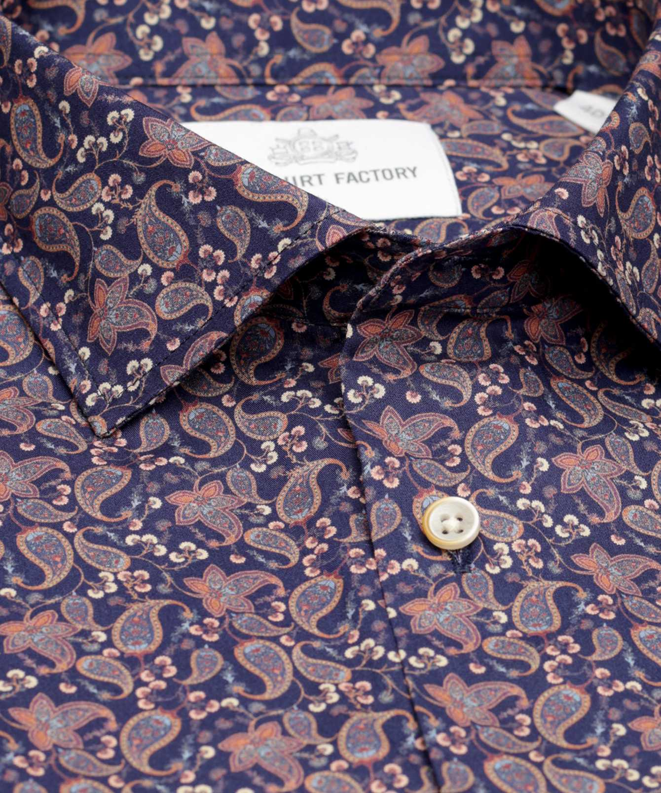 Shirt St.John Paisley The Shirt Factory