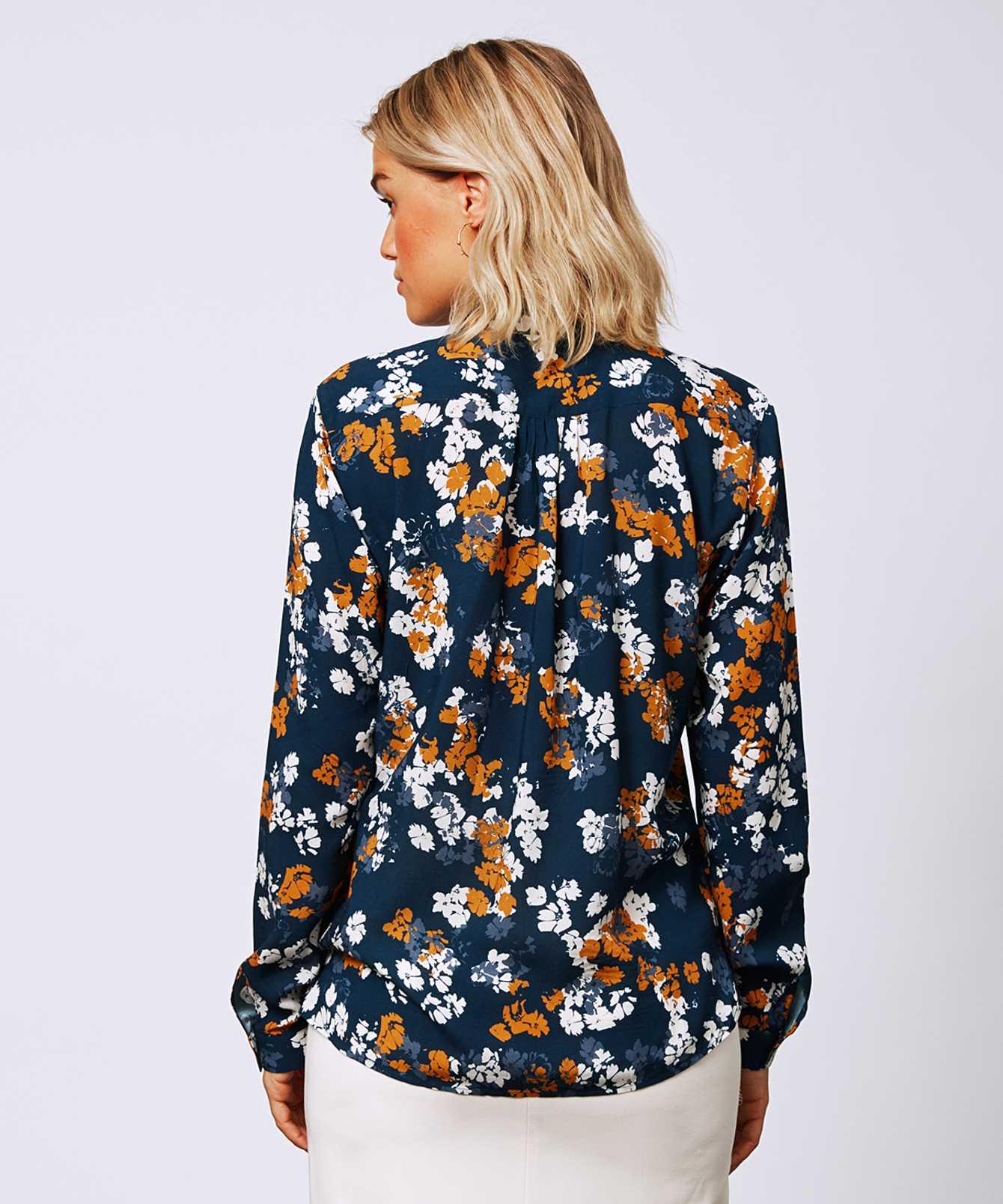 Skjorta Gina Floral  The Shirt Factory