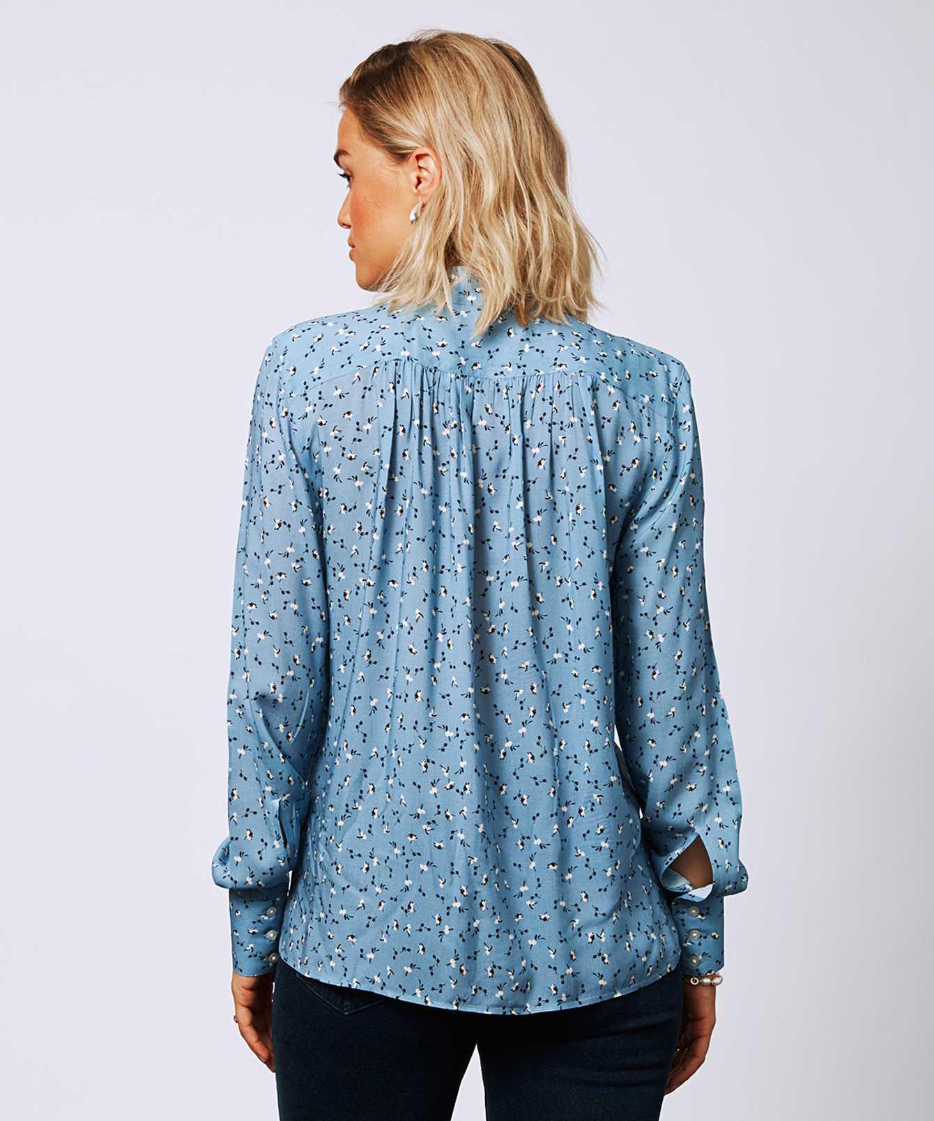 Skjorta Sofia Floret  The Shirt Factory