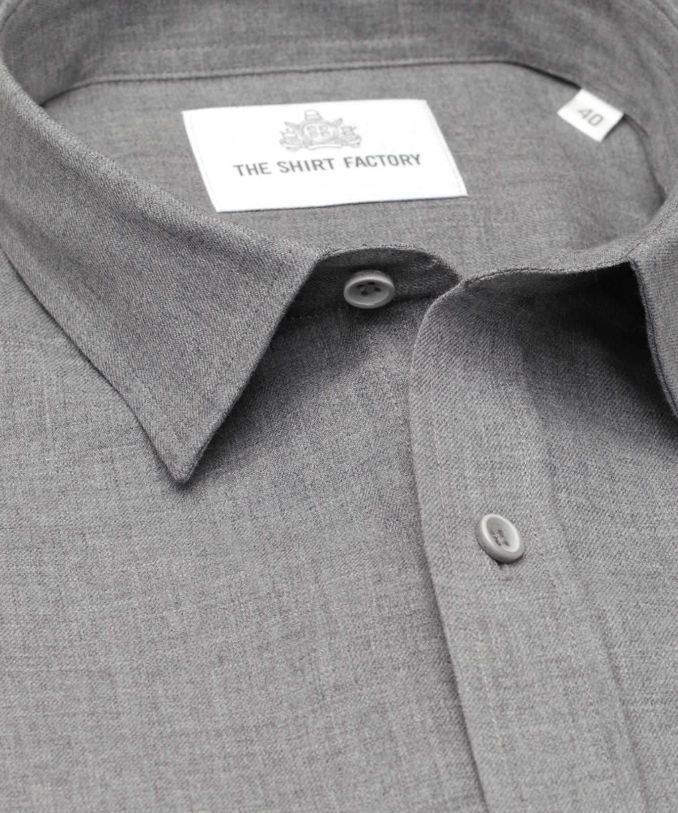 Shirt Costello ljusgrå The Shirt Factory