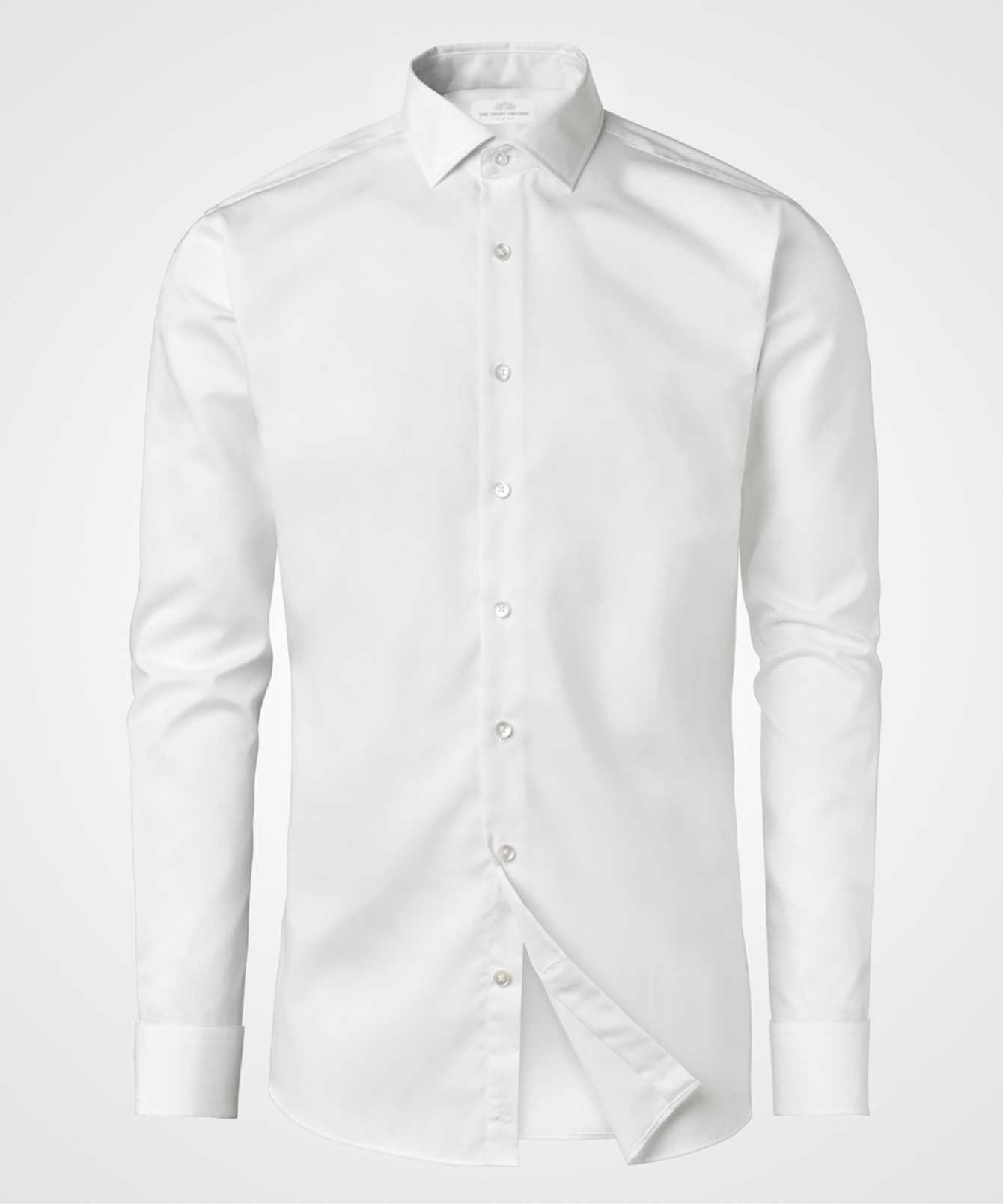 Skjorta Grand Twill Strykfri Vit The Shirt Factory
