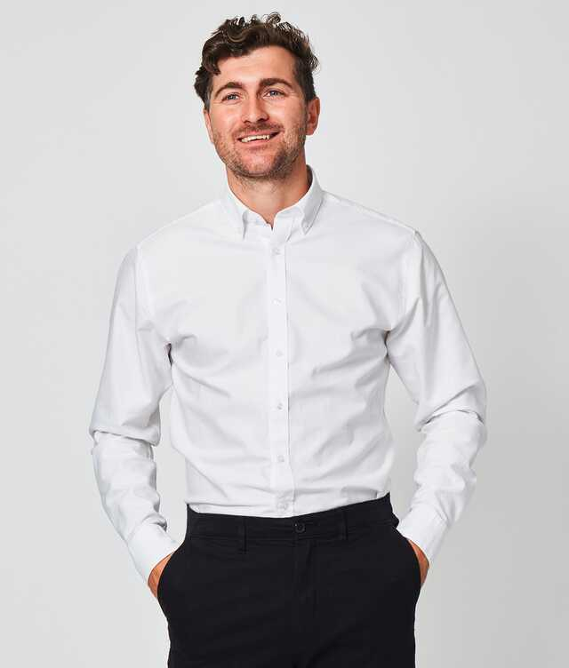Slim fit - Hampton Oxford White