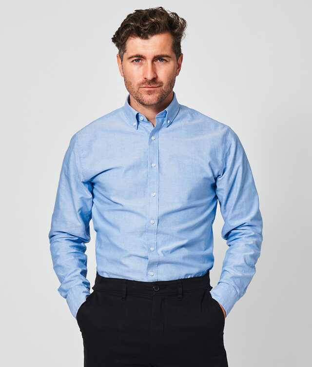 Slim fit - Hampton Oxford Blå