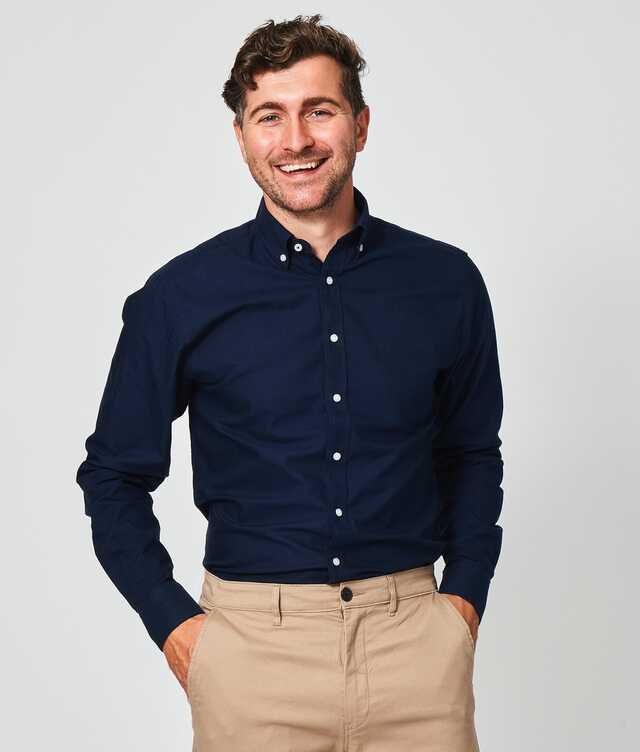 Slim fit - Hampton Oxford Navy