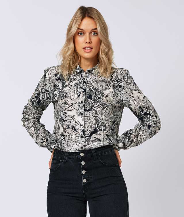 Skjorta Tilde Trendy Paisley The Shirt Factory