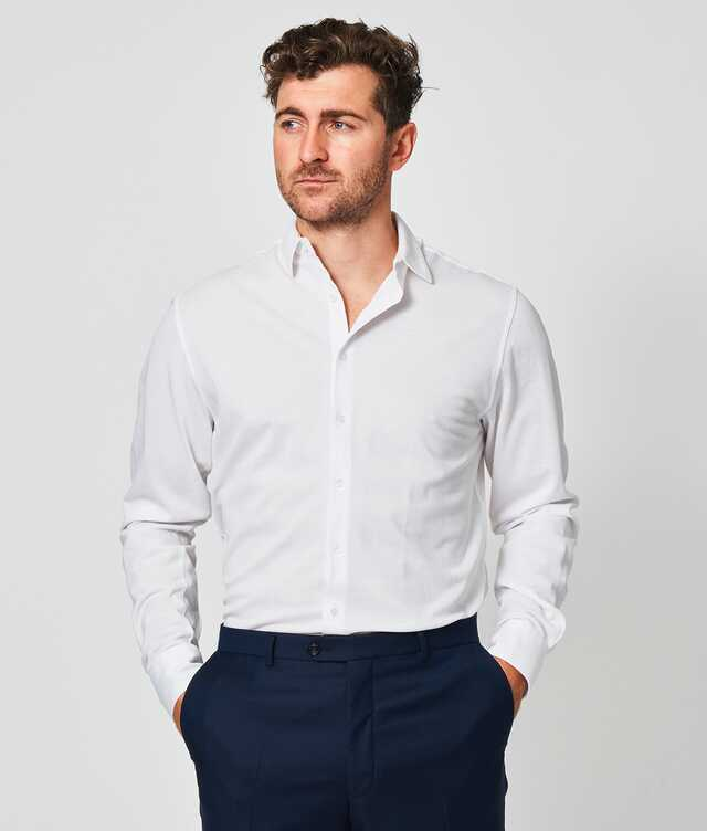 Slim fit - Royal Troon Pique White