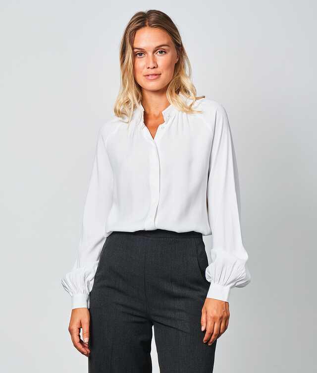 Skjorta Mira Verona Vit The Shirt Factory