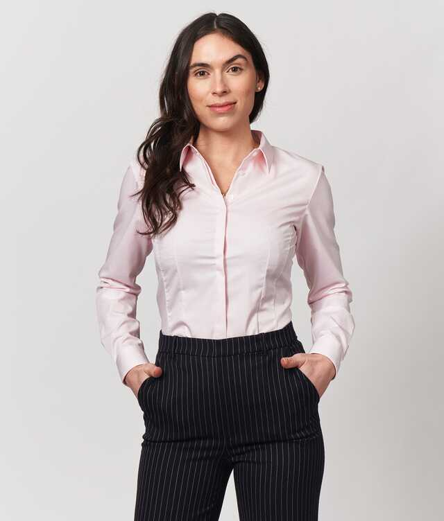 Skjorta Emma Grand Twill Rosa The Shirt Factory
